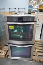 Whirlpool WOD51EC7AS 27  Stainless Double Electric Wall Oven NOB  24818 HL