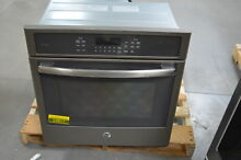 GE PK7000EJES 27  Slate Single Electric Wall Oven NOB  24817 HL