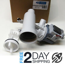 GE Front Load Washer Pump Filter With Motor AP4324598 WH23X10026 1394137 AH17660