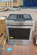 Jenn Air JDS1750ES 30  Stainless Dual Fuel Downdraft Range NOB  24878 HL