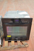 Whirlpool WOS92EC7AB 27  Black Single Electric Wall Oven NOB  24884 HL