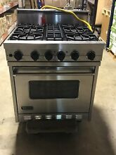 EXCELLENT USED Viking 30  Freestanding Gas Self Clean Range VGSC3064B