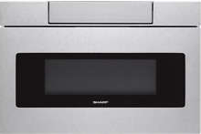 Sharp SMD2470ASY 24  Stainless Built In Microwave Drawer NOB  24980 HL