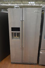 KitchenAid KRSC503ESS 36  Stainless Side by Side Refrigerator NOB CD  25242 HL