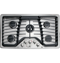 GE PROFILE PGP986SETSS 36  NATURAL GAS COOKTOP