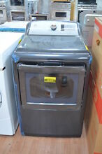 GE GTD75ECPLDG 27  Diamond Gray Front Load Electric Dryer NOB  25300 CLW