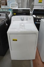 GE GTD33EASKWW 27  White Front Load Electric Dryer NOB  25406 CLW