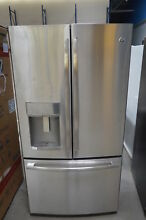 GE PYE22PSKSS 36  Stainless French Door Refrigerator NOB CD  25431 HL