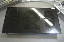 KitchenAid KICU569XBL 36  Black Electric Induction Cooktop NOB  25596 HL