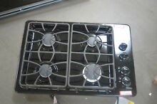 GE JGP333DETBB 30  Black 4 Sealed Burner Gas Cooktop NOB  25600 HL
