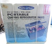Porta Gaz 3 Way Camping RV Portable Refrigerator Fridge Cooler 12V 120 LPGS