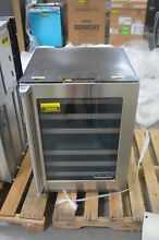 Viking VWUI5240GRSS 24  Stainless Under Counter Wine Cooler NOB  25659 HL