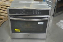 GE PT9050SFSS 30  Stainless Single Electric Wall Oven NOB  25662 HL