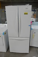 Whirlpool WRF560SMYW 30  White French Door Refrigerator NOB  25719 HL