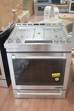 Jenn Air JGS1450FP 30  Stainless Slide In Gas Range NOB  25764 HL