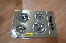Frigidaire FFEC3005LS 30  Stainless Electric 4 Coil Cooktop NOB  25354 HL