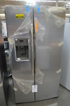 GE GSS25LSLSS 36  Stainless Side by Side Refrigerator NOB  25537 HL