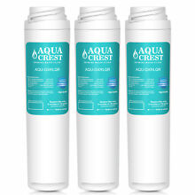 GE GXRLQR Compatible Inline Water Filter Replacement by AQUACREST 3 pack