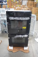 GE JK3500DFBB 27  Black Double Electric Wall Oven NOB  25485 HL