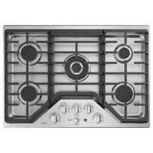 GE Cafe Series  CGP9530SLSS30 Inch Gas Cooktop  Stainless Steel