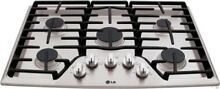 LG LCG3011S 30 in  Gas Gas Cooktop Stainless Steel