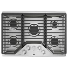GE PGP959SET Stainless Steel 30 in  Gas Gas Cooktop