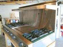 Viking 60 inch Gas Cook Top with Griddle