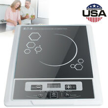 Electric Induction Cooker Single Burner Digital Hot Plate Cooktop Countertop USA