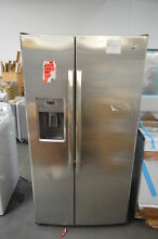 GE GSE25GSHSS 36  Stainless Side by Side Refrigerator NOB  25939 HRT