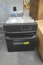 GE JRP20BJBB 24  Black Single Electric Wall Oven NOB  25942 HL