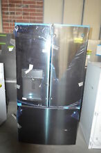 GE DFE28JBLTS 36  Black Stainless French Door Refrigerator NOB  25845 CLW