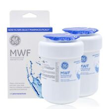 Fits GE MWF SmartWater MWFP GWF Compaible Refrigerator Water Filter 2 Pack