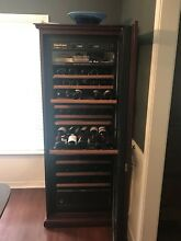 Eurocave Confort Vieillitheque Wine Cooler with 3 different temperature zones