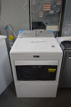 Maytag MEDB765FW 27  White Front Load Electric Dryer NOB  26181 HL