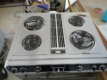 Jenn Air 30  slide in downdraft range model S160 complete with electric grill