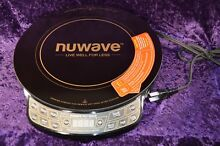 NUWAVE INDUCTION COOKTOP PIC GOLD  NEW   12 INCH 30211