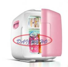 4L New Office Kitchen Fridge pink vehicle mounted Dorm Room Mini Refrigerator