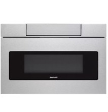 Sharp SMD2470ASY 24  Stainless BuiltIn Microwave Drawer 1 2 Cu Ft  NOB  26254 HL