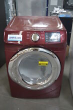Samsung DV42H5200GF 27  Red Front Load Gas Dryer NOB  26332 HL