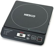 Nesco Portable Induction Cooktop   Black
