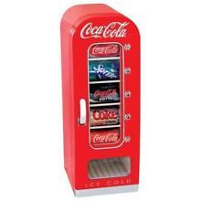 Beverage Refrigerator Coca Cola 10 Can Retro Vending Fridge Home Office Can Offi