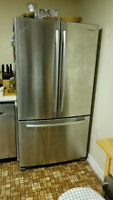 Samsung french door refrigerator  26 Cu Ft