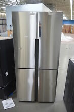 Haier HRQ16N3BGS 33  Stainless French 4 Door Refrigerator NOB  26346 HL