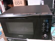 Samsung MC11K7035CG Black Stainless Steel Convection Microwave oven 1 1 Cu  Ft