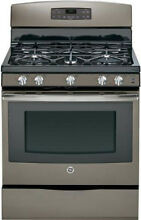 GE JGB697EEHES 30  Slate Freestanding Gas Range Convection NIB  10610 CLW