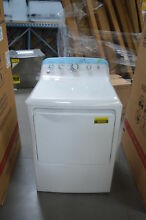 GE GTD42EASJWW 27  White Front Load Electric Dryer NOB  26309 HL