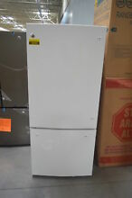 GE GBE21DGKWW 30  White Bottom Freezer Refrigerator NOB  26293 HL