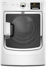 Maytag MED6000XW 27  White Front Load Electric Dryer NIB  9523