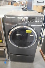 GE GFD45ESPKDG 27  Diamond Gray Front Load Electric Dryer NOB  26379 HL