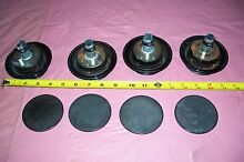 OEM JENNAIR GAS RANGE  BURNER CAPS WITH IGNITORS SET OF 8 SEE   7504P300 60